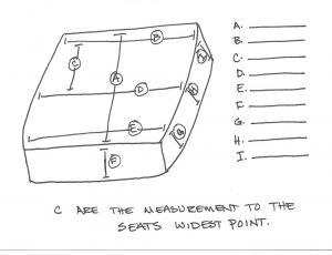 Wheelchair Seat Measurements