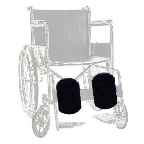 Sheepskin Wheelchair Calf Rest Covers
