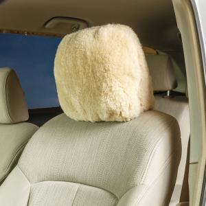 Sheepskin / Acrylic Headrest Cover