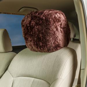 Sheepskin Headrest Covers Universal Fit