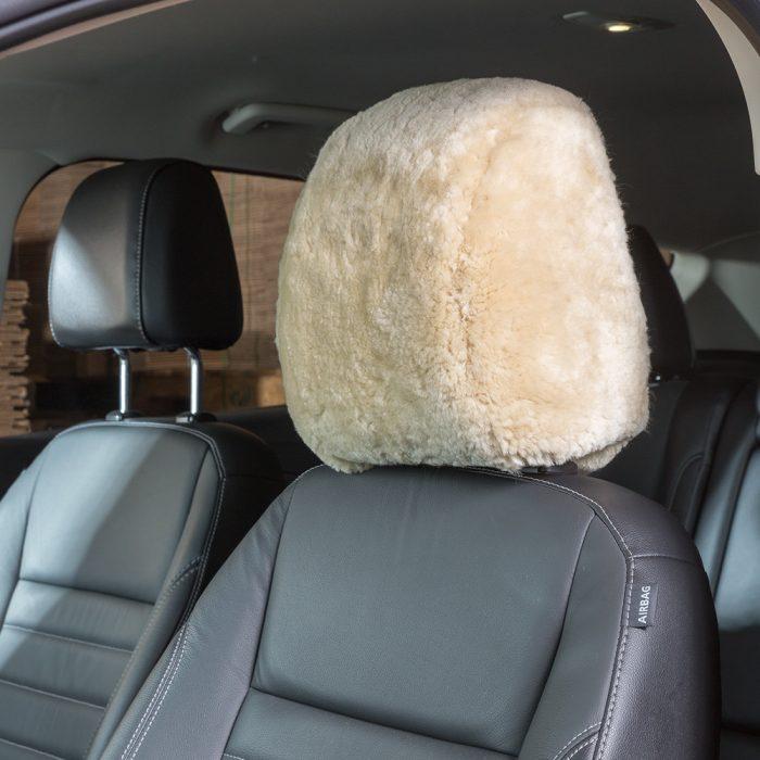 Sheepskin Headrest Covers