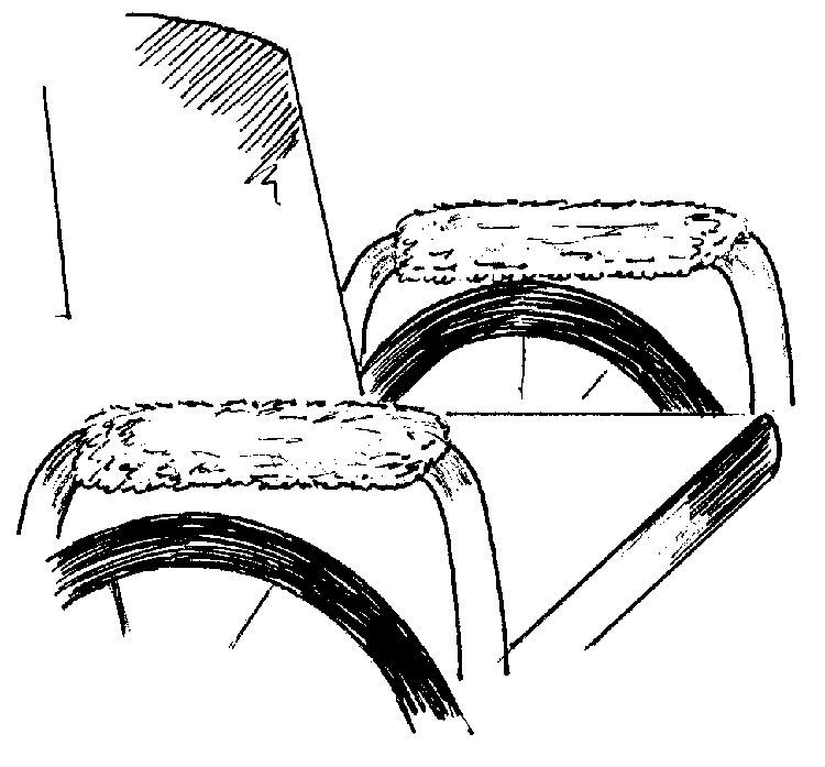Wheel chair armrest covers