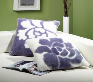 Shearling Pillows Petals