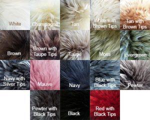 Long Wool colors