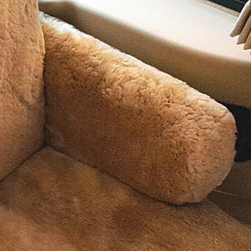 Sheepskin Armrest Covers