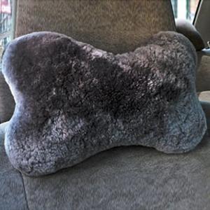Sheepskin Neck Pillow