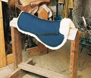 All Purpose/Dressage Half Pad with Pommel Roll