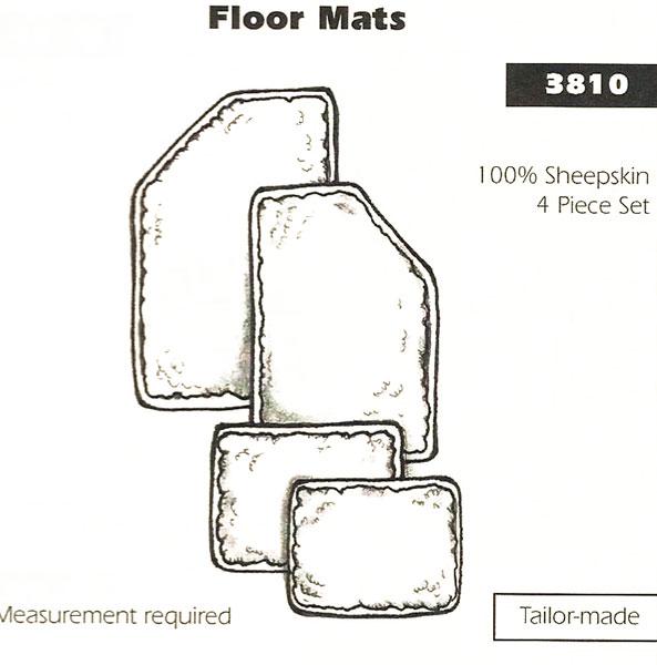 Sheepskin Floor Mats