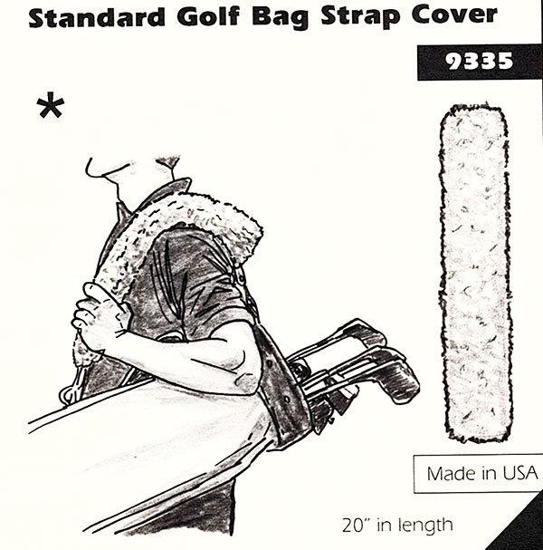 Golf Bag Strap Cover