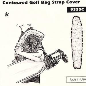 Contoured Golf Bag Strap Cover
