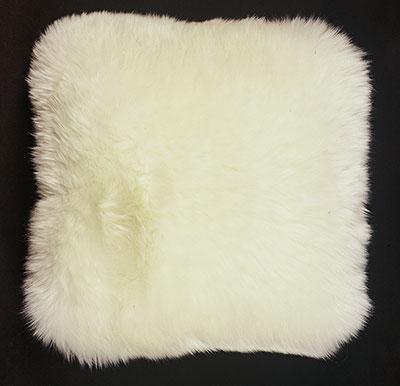 Sheepskin Pillow Square