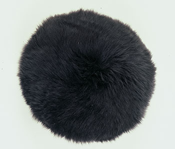 Sheepskin Pillow Round