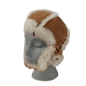 Sheepskin Baby Cap