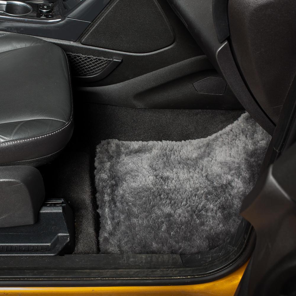 Luxury Automotive Sheepskin Floor Mats