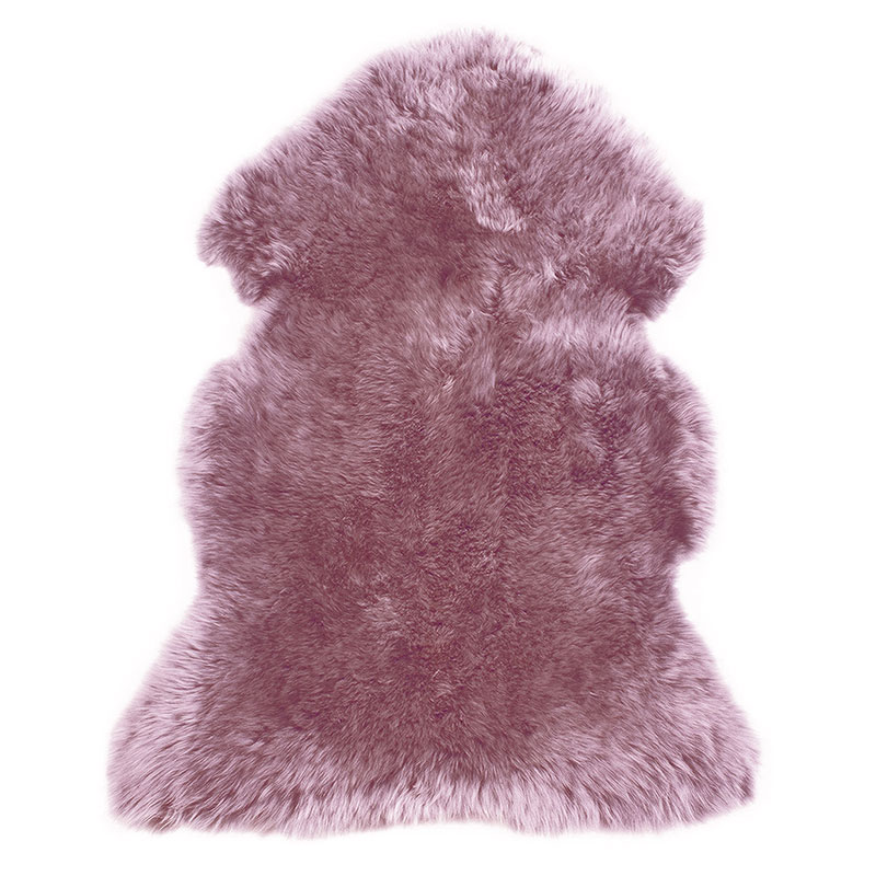 sheepskin-mauve-pink rug
