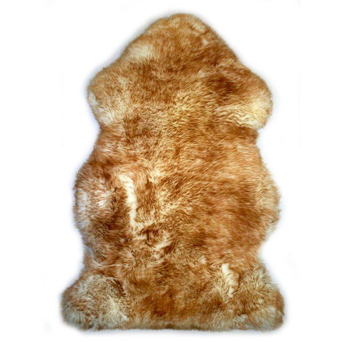 sheepskin-white-brown Rug