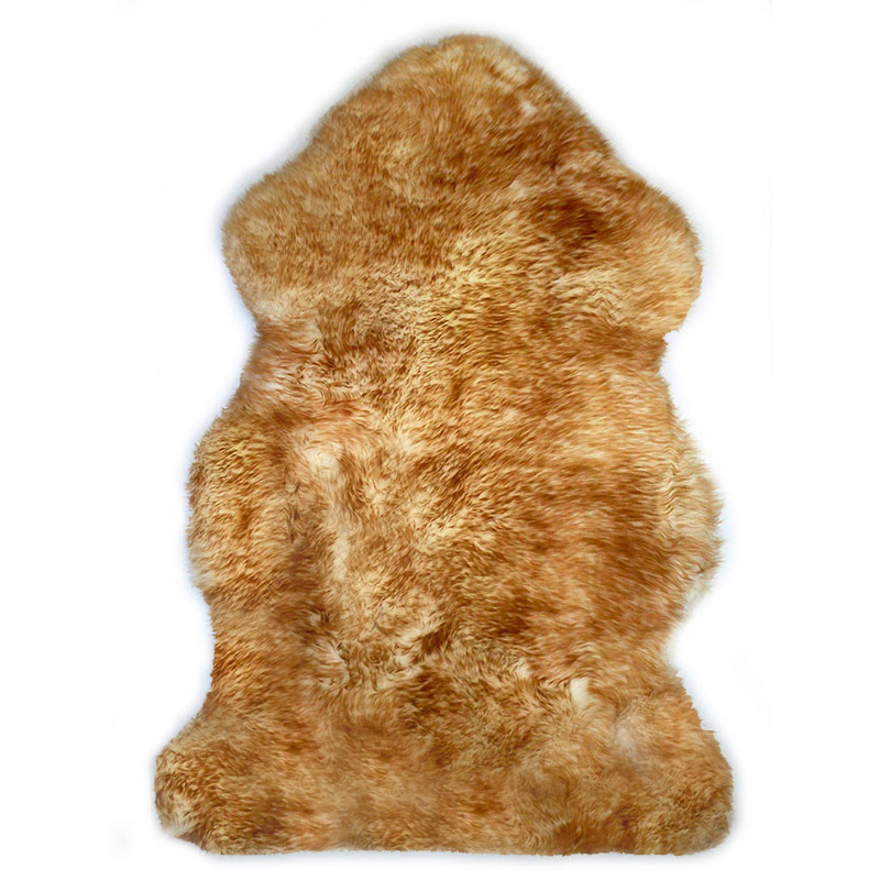 sheepskin-white-brown Rug
