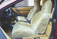 Tailor-Made Sheepskin Seatcovers