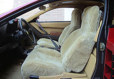 Tailor-Made Sheepskin Seatcovers