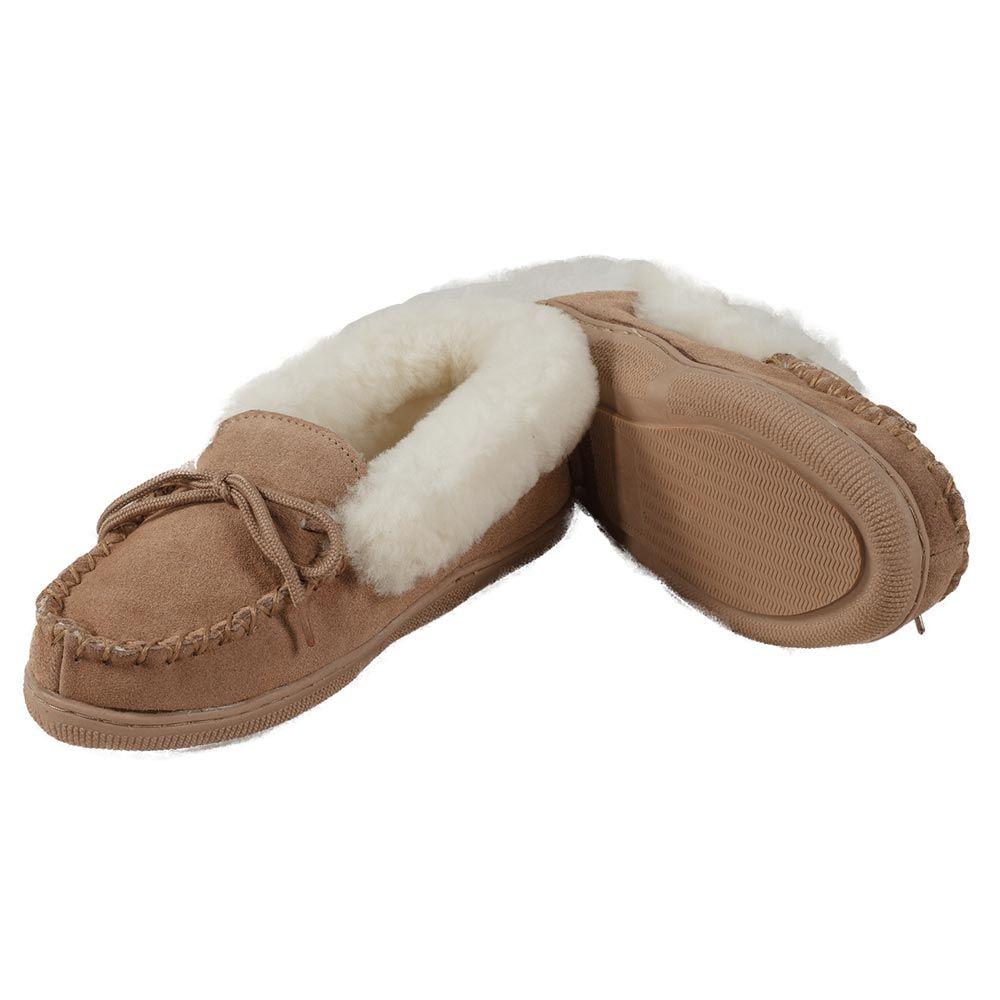 Sheepskin Slippers Moccasin