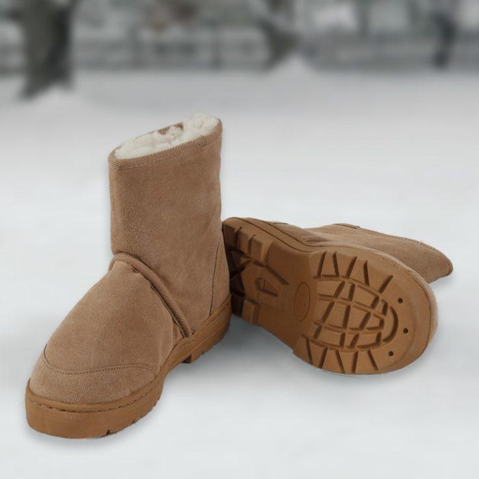 Sheepskin Mid Rise Boot