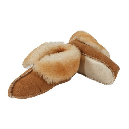 Sheepskin Soft Sole Boot Slippers
