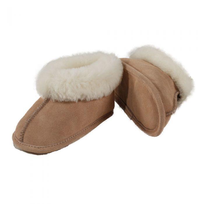 Soft Sole Sheepskin Slippers