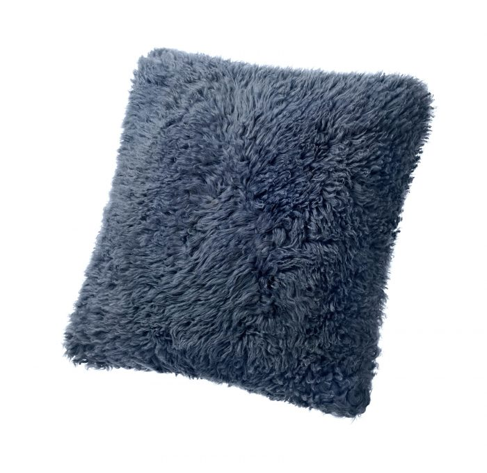 Sheepskin Pillow Charcoal
