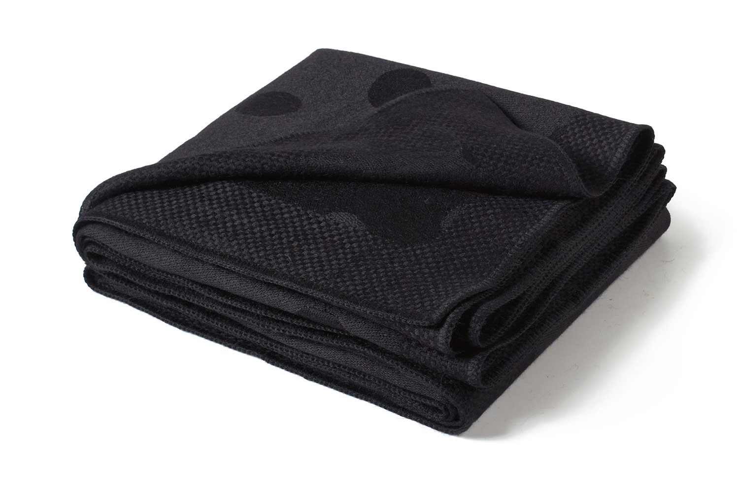 Black Alpaca Throw