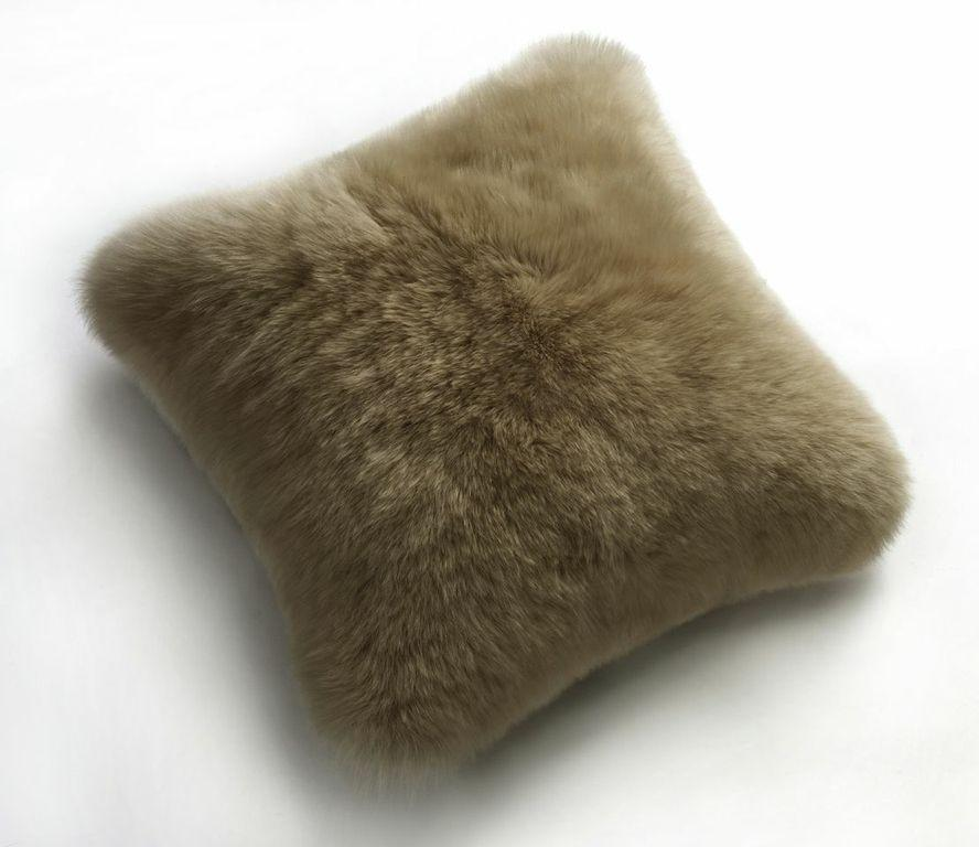 Long Wool Sheepskin Pillows