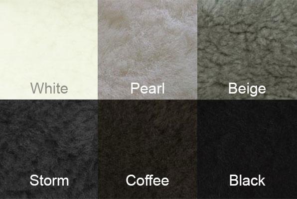 Auskin Shearling Colors