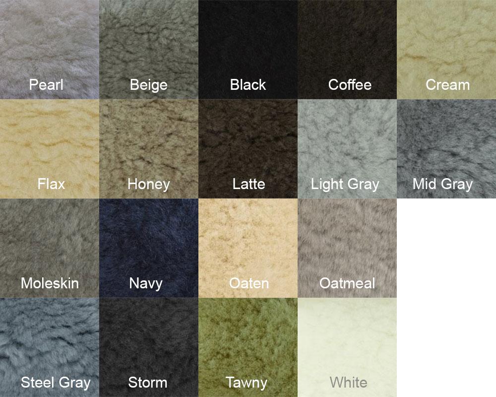 Short Wool Colors
