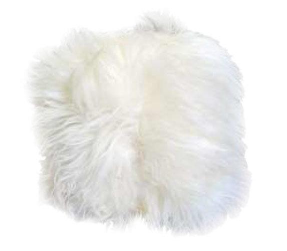 Natural Ivory Fur Pillow