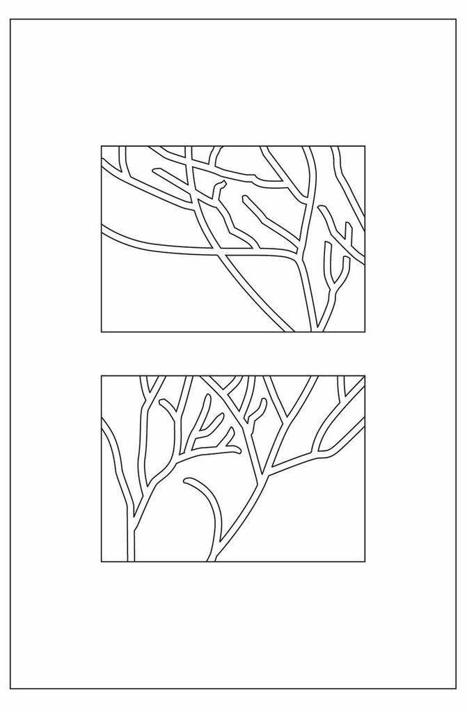 Sheepskin Designer Rug Branches