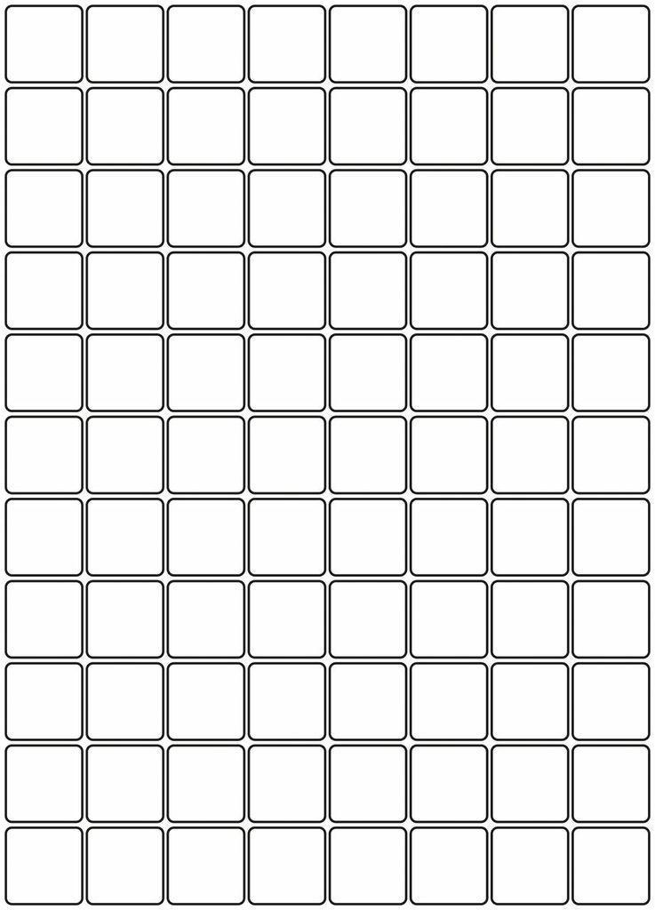 Sheepskin Designer Rug Cubes Drawing