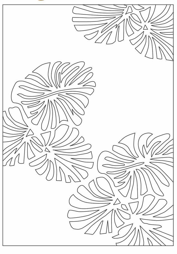 Sheepskin Designer Rug Leaves