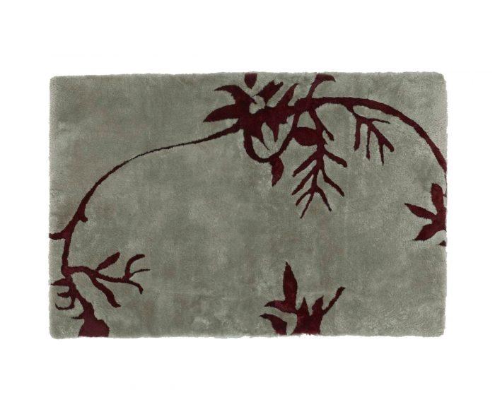 shearling designer rug vines