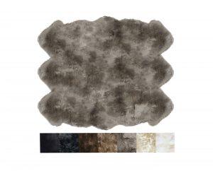 6 Pelt Sheepskin Rug