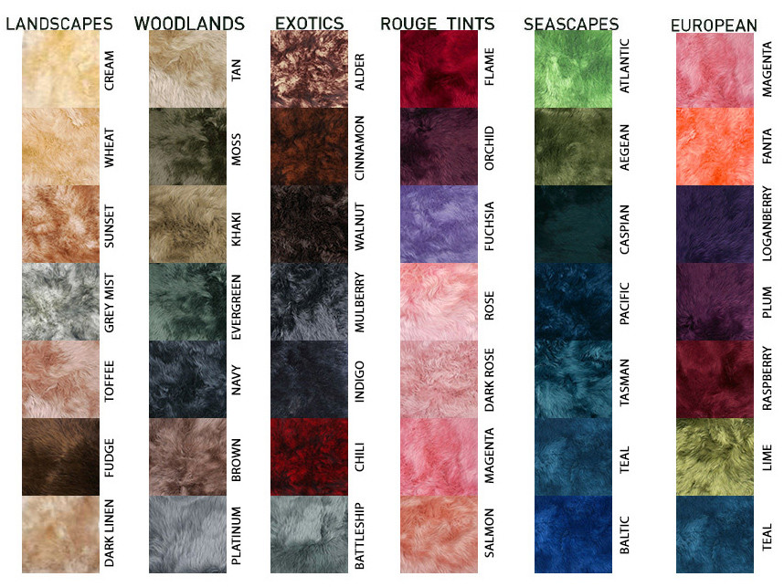 Auskin Special Order Colors