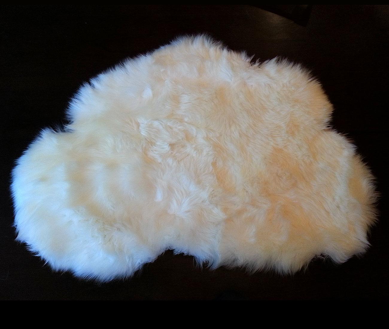Seattle Cloud Sheepskin Rugs White