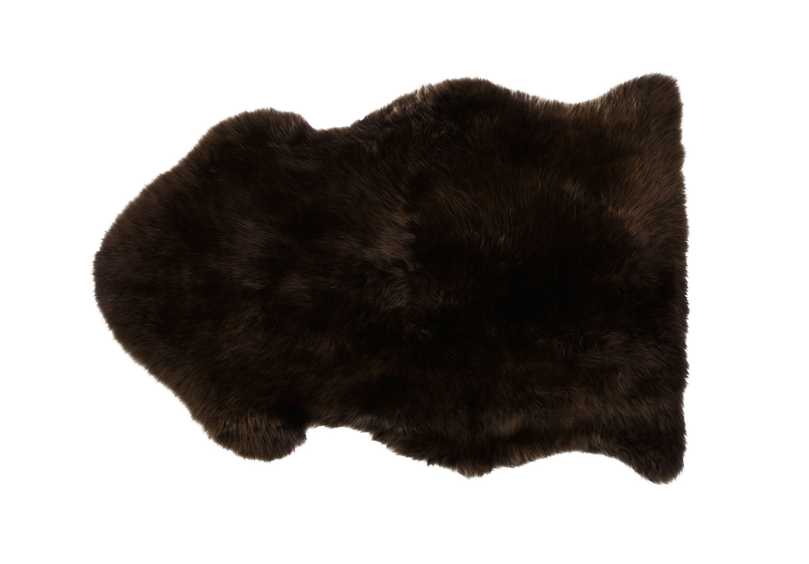 Chocolate Brown Sheepskin Rug