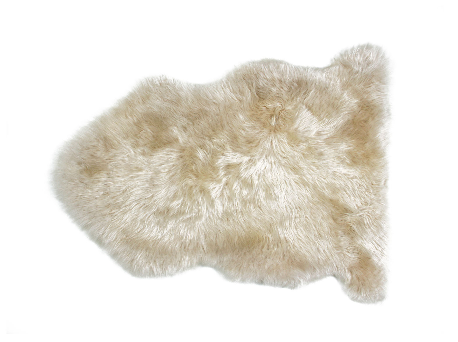 Linen Sheepskin Rug