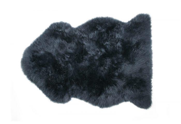 Navy Sheepskin Rug