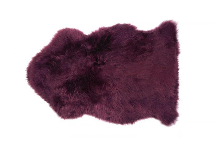 Orchid Purple Sheepskin Rug