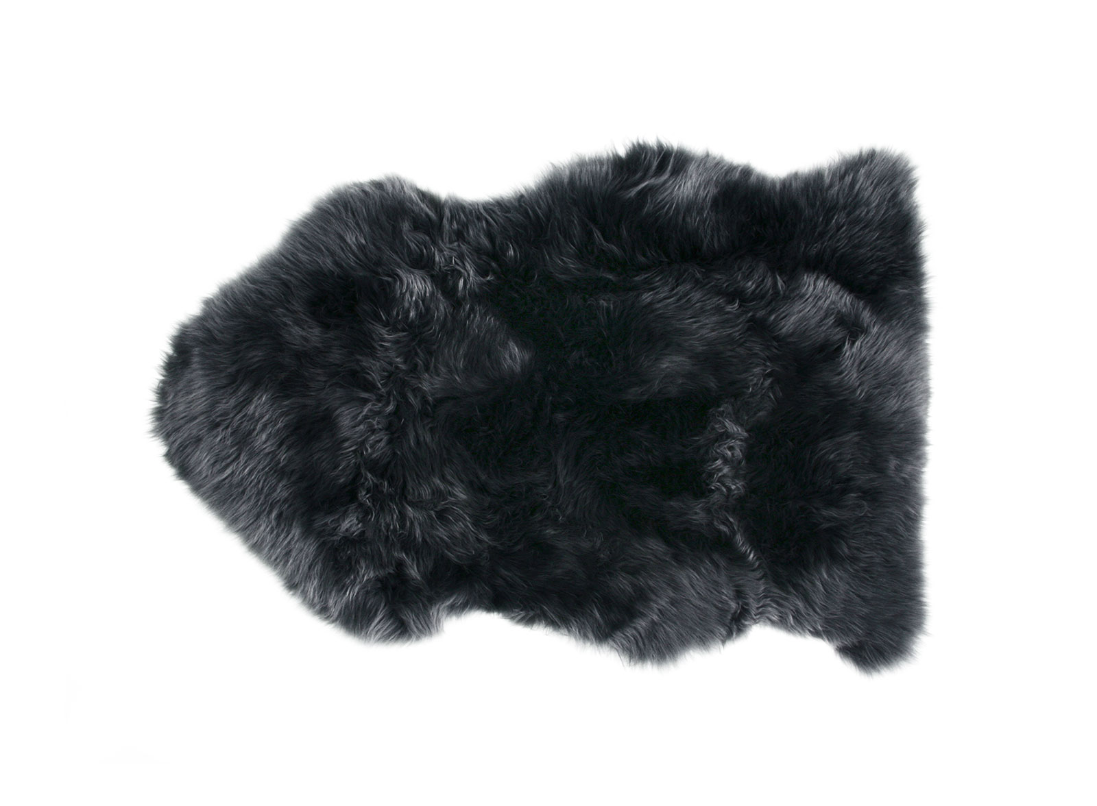 Steel Gray Sheepskin Rug