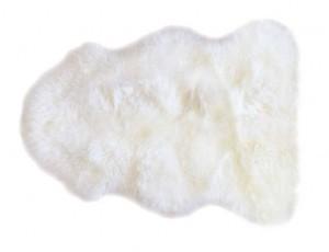 Sheepskin Rug Single Pelt Ivory