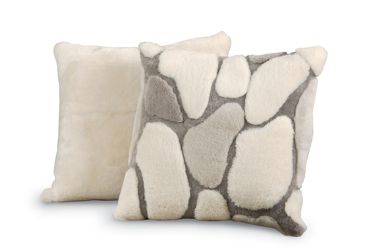 Shearling Designer Pillows