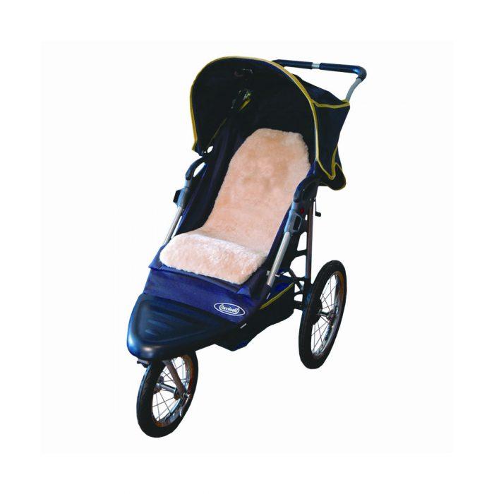 Sheepskin Stroller Pad