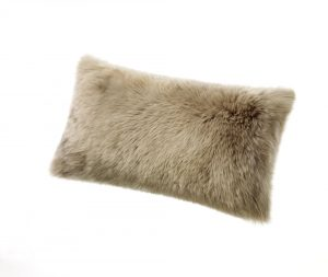 Sheepskin Kidney Pillow Vole Gray