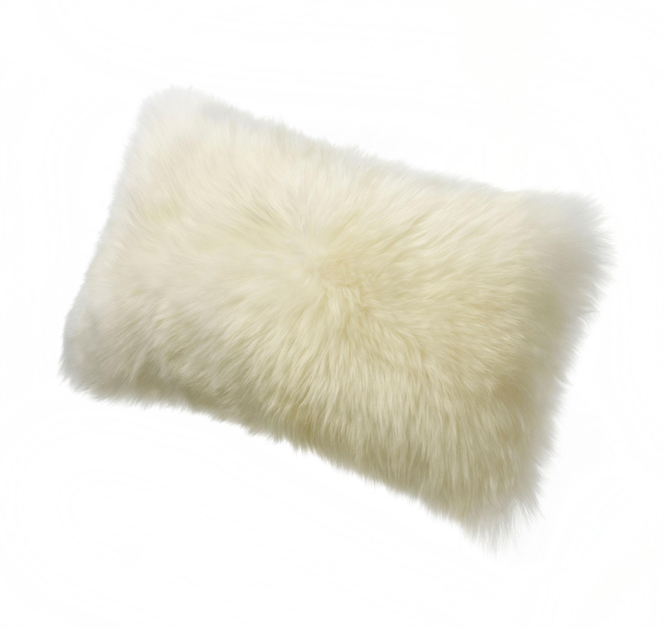 Sheepskin Kidney Pillow Ivory